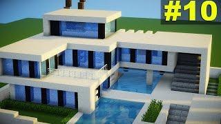 casas modernas minecraft