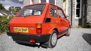 Fiat 126 BIS Start up, rev, interior & exterior all in HD!