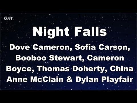 Night Falls  Karaoke 【No Guide Melody】 Instrumental