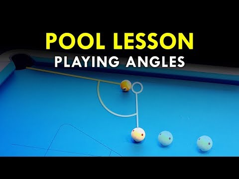 Pool Lesson | The Importance Of Angles In Pool