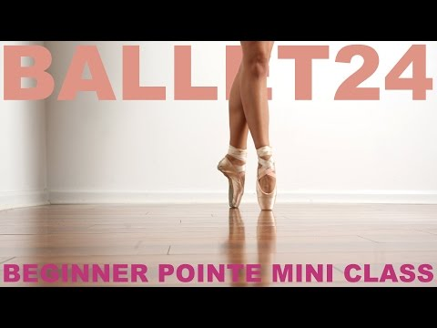 Ballet Workout: Beginner Pointe Mini Class