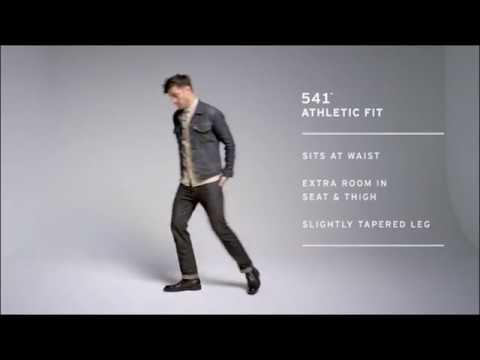 LEVI DENIM JEANS FITMENT VIDEO 501, 505, 511, 514, Regular, Slim Cuts