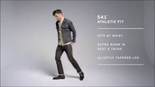 LEVI DENIM JEANS FITMENT VIDEO 501, 505, 511, 514, Regular, Slim Cuts