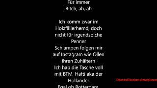 Haftbefehl - Für immer Reich [LYRIC VIDEO HD]