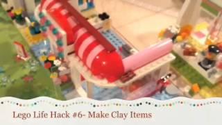 8 LEGO LIFE HACKS!!! - Pinklover