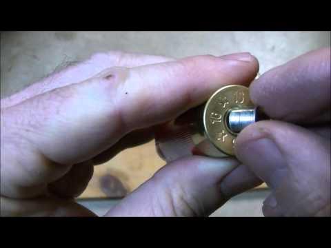 Shotgun Shell Primer Pocket Peener