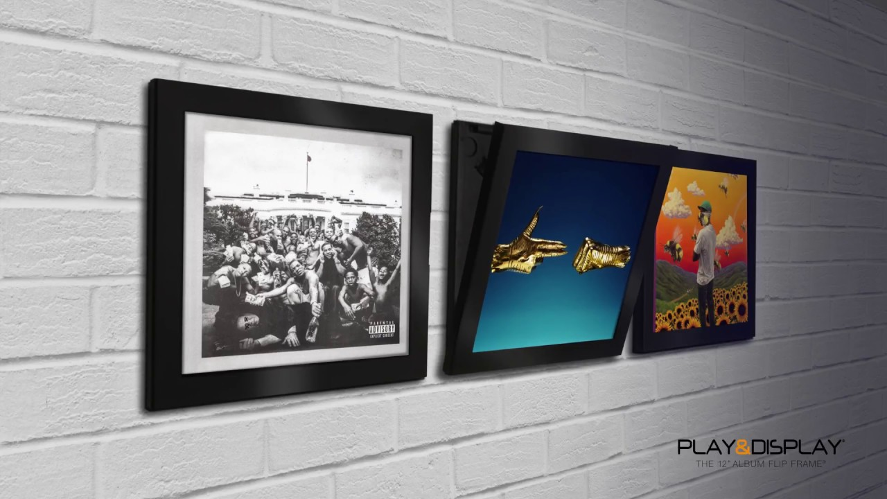Art Vinyl - Play & Display Flip Frames Run the Jewels Kendrick Lamar ...