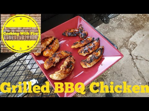 Cooking BBQ Grilled Chicken on the Oklahoma Joe Highland