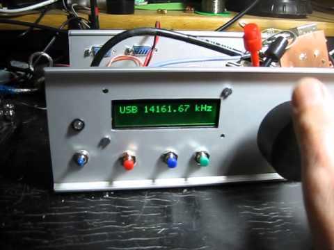 FPGA SDR demo - listening to shortwave
