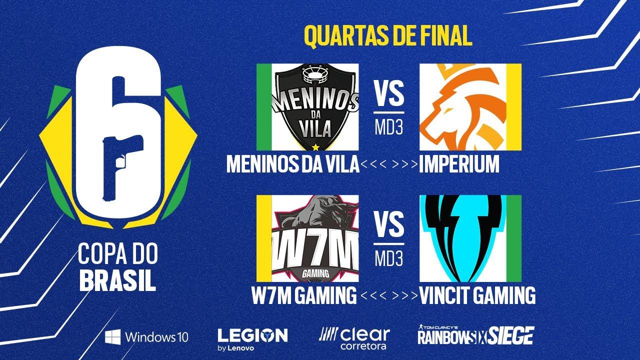 Copa do Brasil - Quartas de final - Rainbow Six Siege
