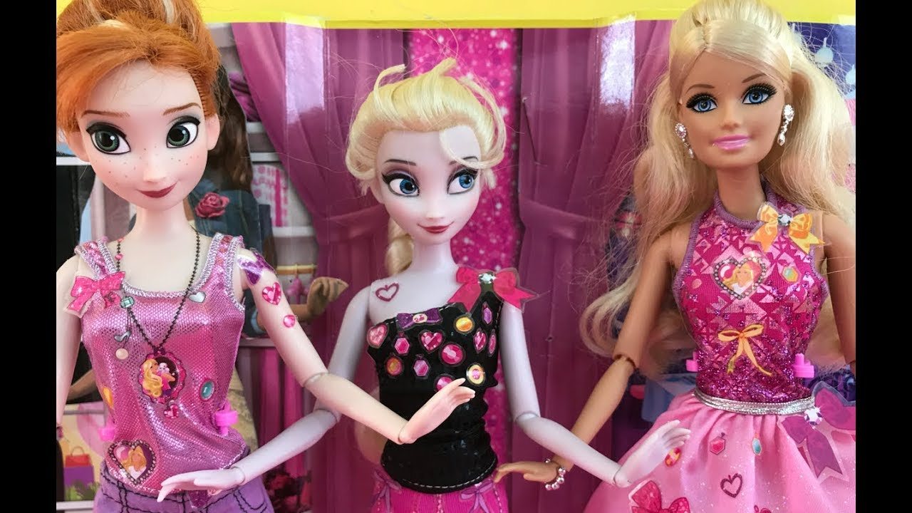 barbie elsa and anna - yiv.Com - Free Mobile Games Online