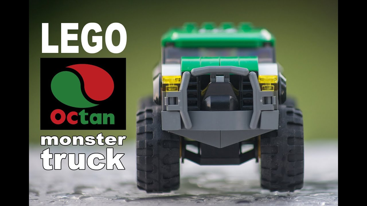 Lego City Octan Monster Truck  How To Build Tutorial