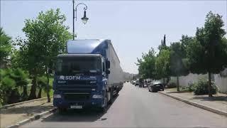 من العوامة الى مغوغة عبر الطريق الجانبية وعودة الى حي دار التونسي 06 08 2019 tangier morocco