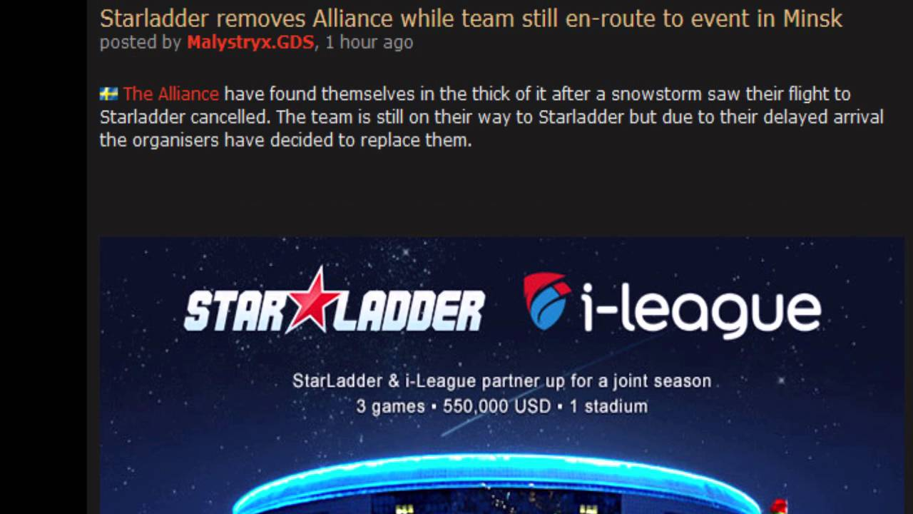 Dota 2 News, The Manila Major, Alliance Removed from Starladder ...