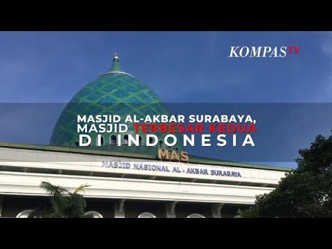 Di Surabaya Ada Masjid Terbesar Ke-2 di Indonesia