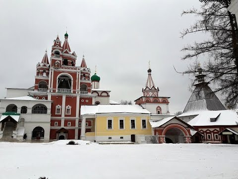 Поездка в Саввино-Сторожевский монастырь  накануне  Крещения