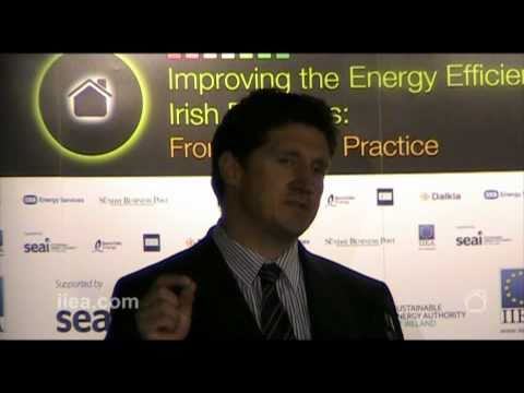Minister Eamon Ryan on Improving the Energy Efficiency of Irish Buildings.