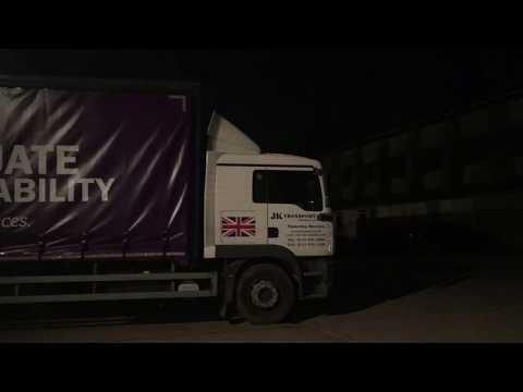 Bishop Grosseteste University Truck Advertising Launch Video