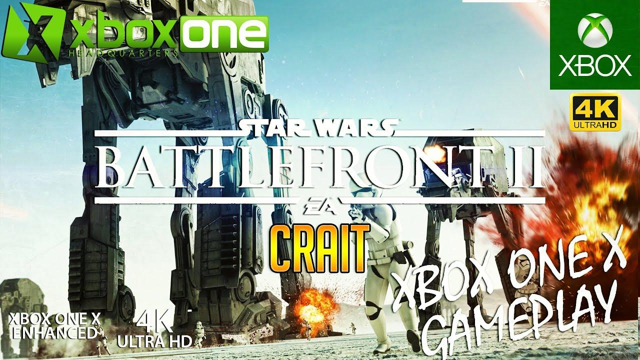 [4K] CRAIT GALACTIC ASSAULT GAMEPLAY - Star Wars Battlefront 2 XBOX ONE X