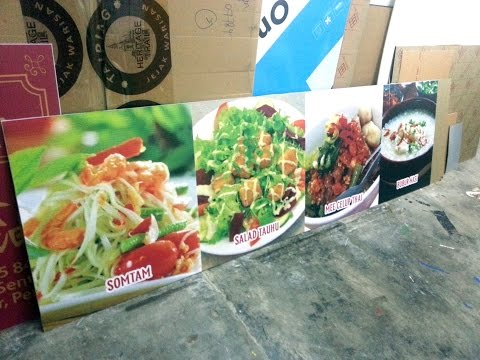 FOOD SIGNAGE : TERENGGANU, MARANG, Signs Shop, Signboard Company, Signage Supplier
