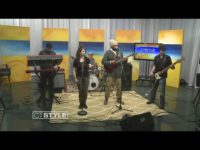 I Anbassa Roots REGGAE band burning down Monsanto and GMOs on Connecticut News channel 8.