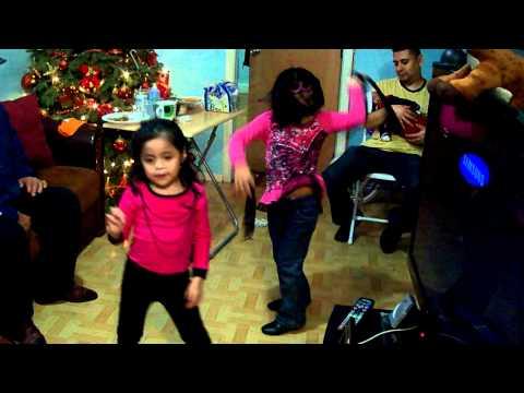 Pily y MIchel bailando reguetton