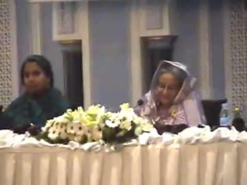 Qatar jatiya party with prime minister shek hasina & Ahmed  Reaz