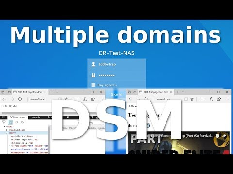 Multiple domains on Synology's DSM 6.x