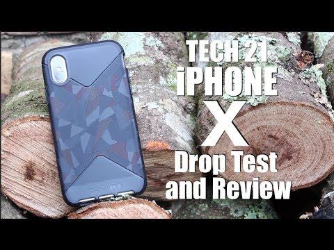 iPhone X Tech 21 DROP TEST and Full Review!