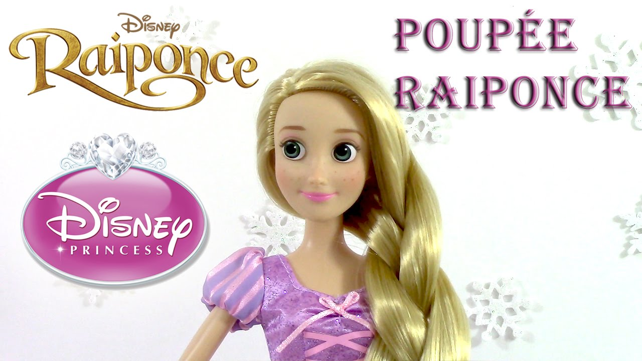 Princesse disney review poup e raiponce magasin disney store youtube - Princesse disney raiponce ...