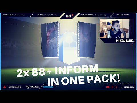 OMG!! 😱😱 2x 88+ INFORM IN ONE PACK! 🔥| WEEKEND LEAGUE REWARDS -  FIFA 18 PACK OPENING
