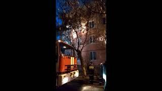 Пожар в жилой квартире в Серпухове
