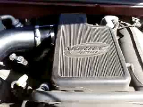 AFE Air intake on 2002 Trailblazer with Performance ...