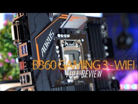 لوحة  متوسطة للجيل الثامن بأحشاء Z370 - مراجعة AORUS B360 Gaming 3 WIFI