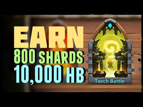 Castle Clash: Torch Battle = 800 Shards + 10,000 Honor Badges - #2 Of 3