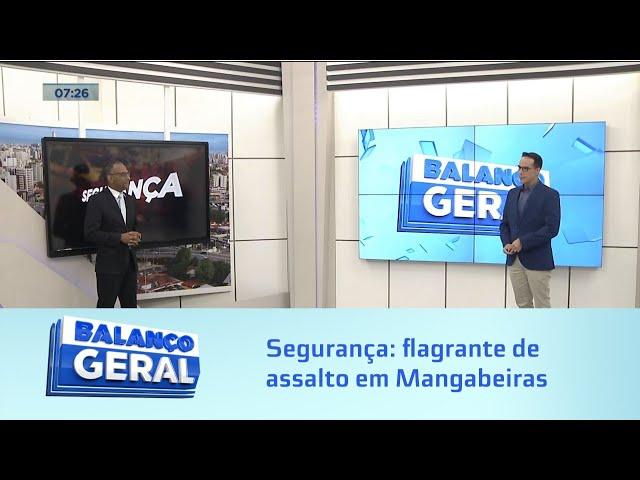 Segurança: Especialista em segurança analisa flagrante de assalto em Mangabeiras