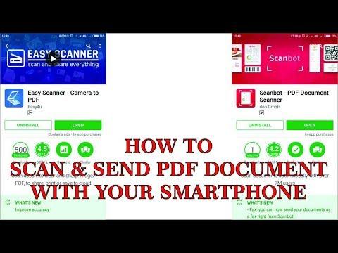 Scan & Send PDF Document dari Smartphonemu