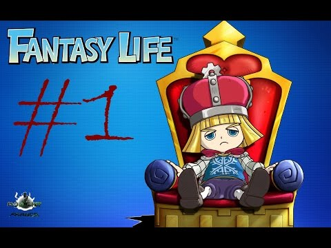 [Let's Play][FR] Fantasy Life #1 Le Roi Eric [Sélection Modchip France]