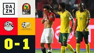 Aus für Mo Salah & Co.! Favoritensterben geht weiter: Ägypten - Südafrika 0:1 | Afrika Cup | DAZN