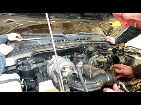Chevrolet Niva - Снятие головки блока