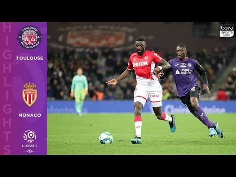 Toulouse 1 - 2 AS Monaco - HIGHLIGHTS & GOALS - 12/4/19