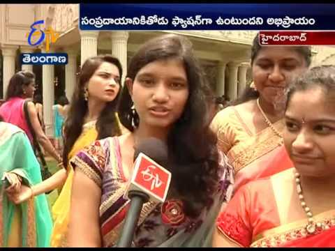 Youth Shows Very Interest to Wear Sarees in Special Events: A Report