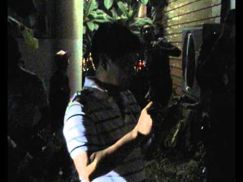 หนุ่มเมาคลั่งบุกเผาสำนักทะเบียนราษฎร์อำเภอเมืองบุรีรัมย์