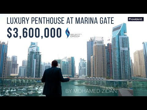 Marina Gate Penthouse - Dubai Luxury Property
