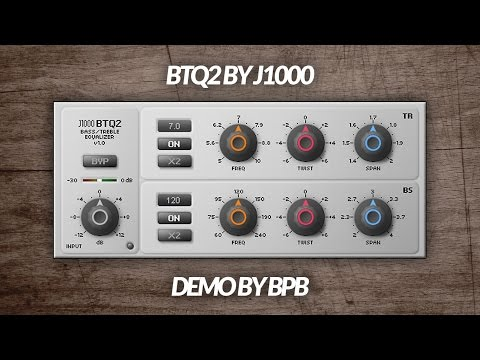 J1000 BTQ2 VST Plugin DEMO