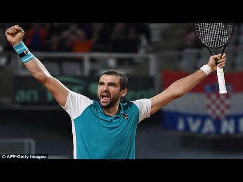 Marin Cilic Cruises Past Kazakhstan's Mikhail Kukushkin To Send Croatia Into Davis Cup