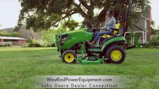john deere 1023e utility tractor west end power equipment connecticut 0 financing 99 per month