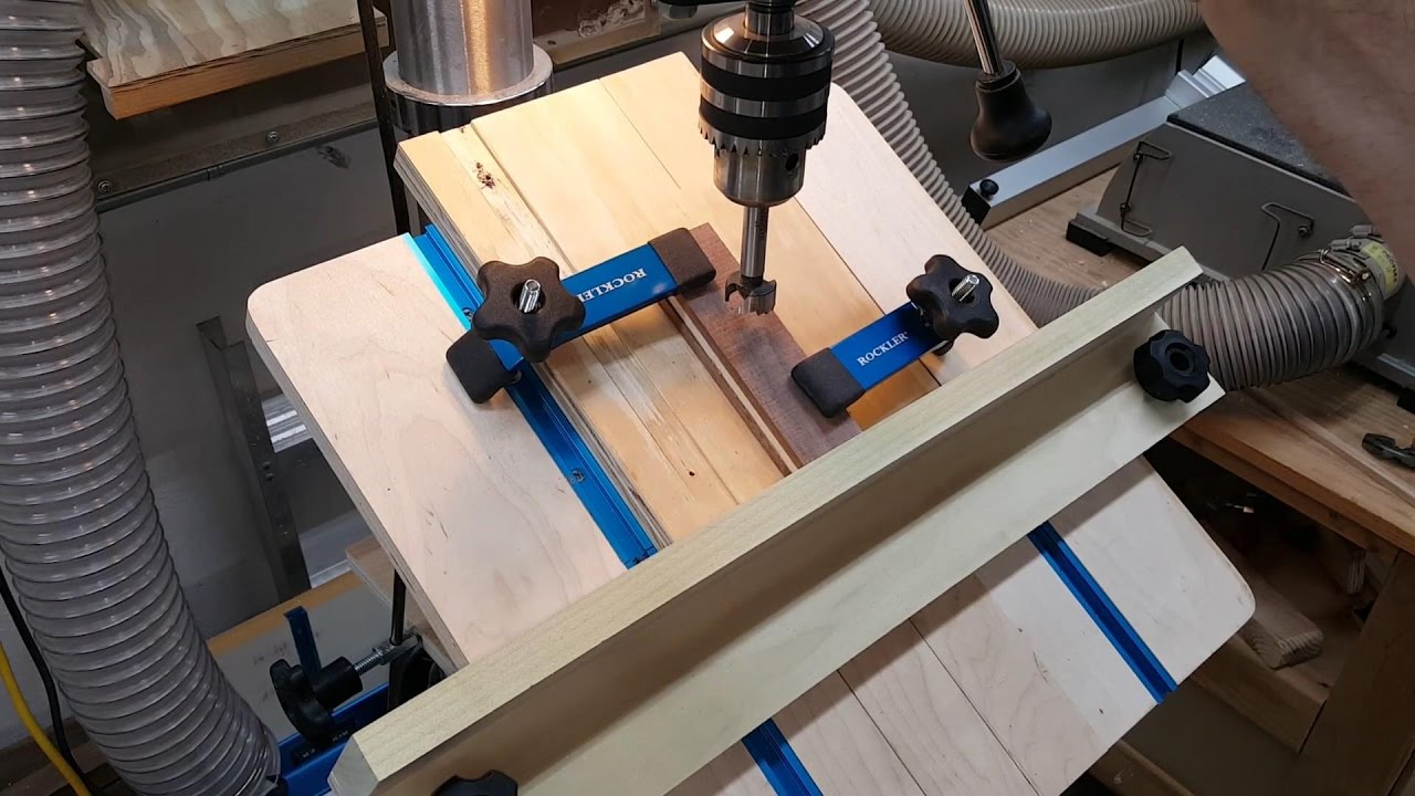 Drilling Angled Holes With Drill Press