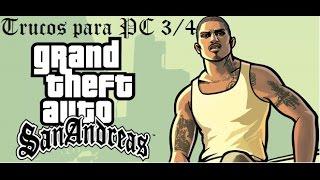 Trucos de GTA San Andreas para PC 3/5
