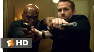 The Hitman's Bodyguard (2017) - Bodyguard vs. Hitman Fight Scene (2/12) | Movieclips